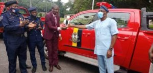 Makinde Donates 4 Utility Vehicles To Oyo Fire Service