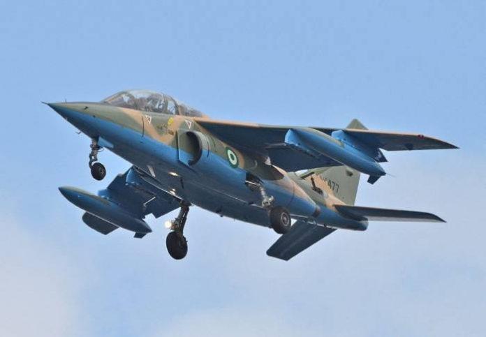 NAF kills 20 ISWAP Commanders in Borno