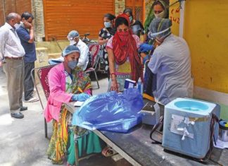 India Records 77,266 New COVID-19 Cases, 1,057 Deaths In Single Day
