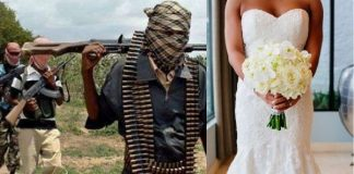 Bandits Abduct Bride Hours After Wedding