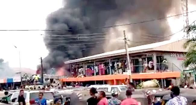 Fire Outbreak Destroys Property Worth Millions Of Naira In Delta