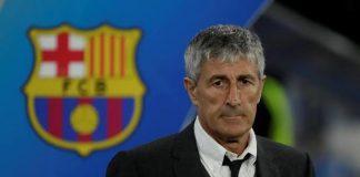 Barcelona Sack Coach Setien After Bayern Drubbing