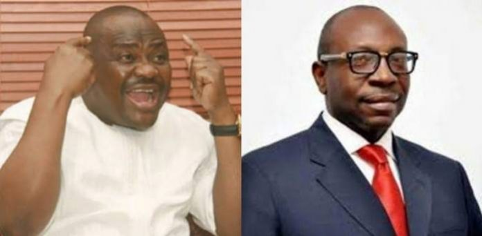 No Man With Conscience Can Support Ize-Iyamu - Wike
