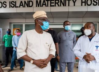 Sanwo-Olu, Wife Celebrate Eid-El-Kabir With Patients, Health Workers At Hospitals