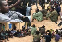 Borno Police Arrest, Parade Boko Haram Logistics Supplier, 44 Others