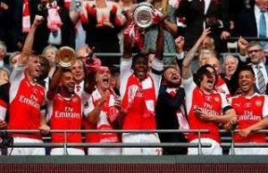 Aubameyang Double Helps Arsenal Beat Chelsea For 14th FA Cup Title
