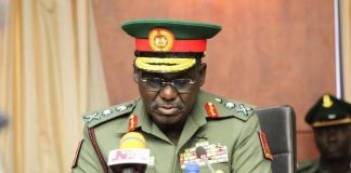 Lawyer Petitions Buratai Over Sack Of Female Soldier Raped By 5 Bandits