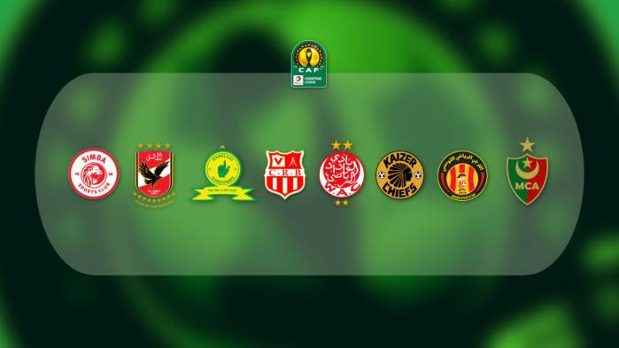 2020/2021 CAF Champions League Quarter-Final Fixtures ...